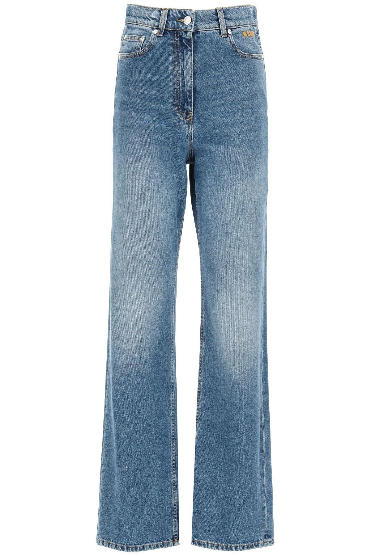 Msgm Oversize Jeans: image 1