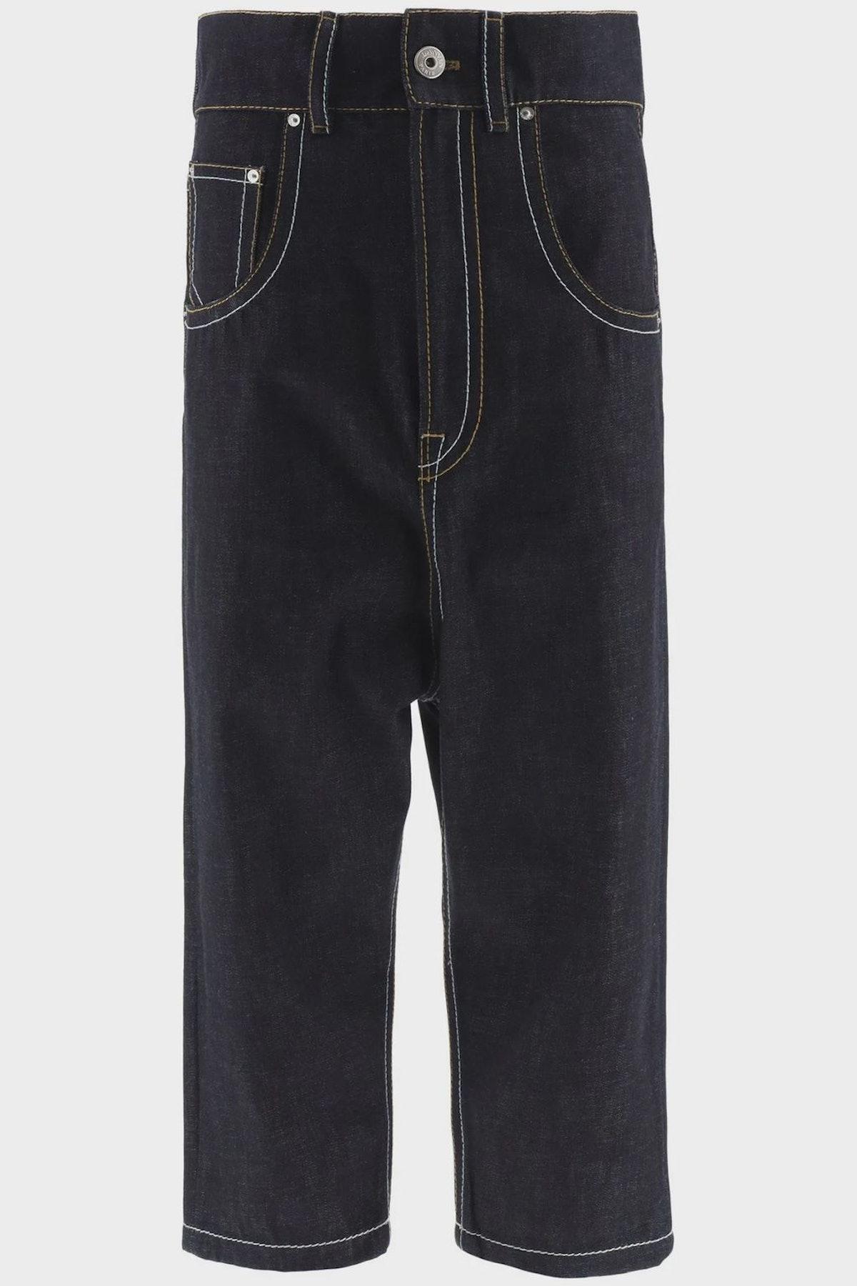 Lanvin Drop Crotch Jeans: image 1
