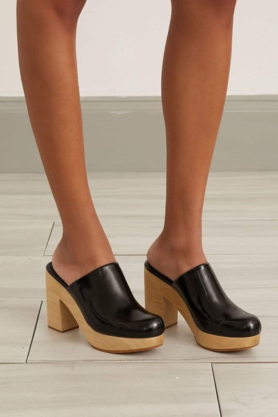Dakota Clog in Black: image 1