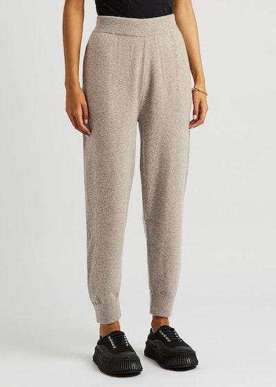 N°56 Yogi stone cashmere-blend sweatpants: image 1