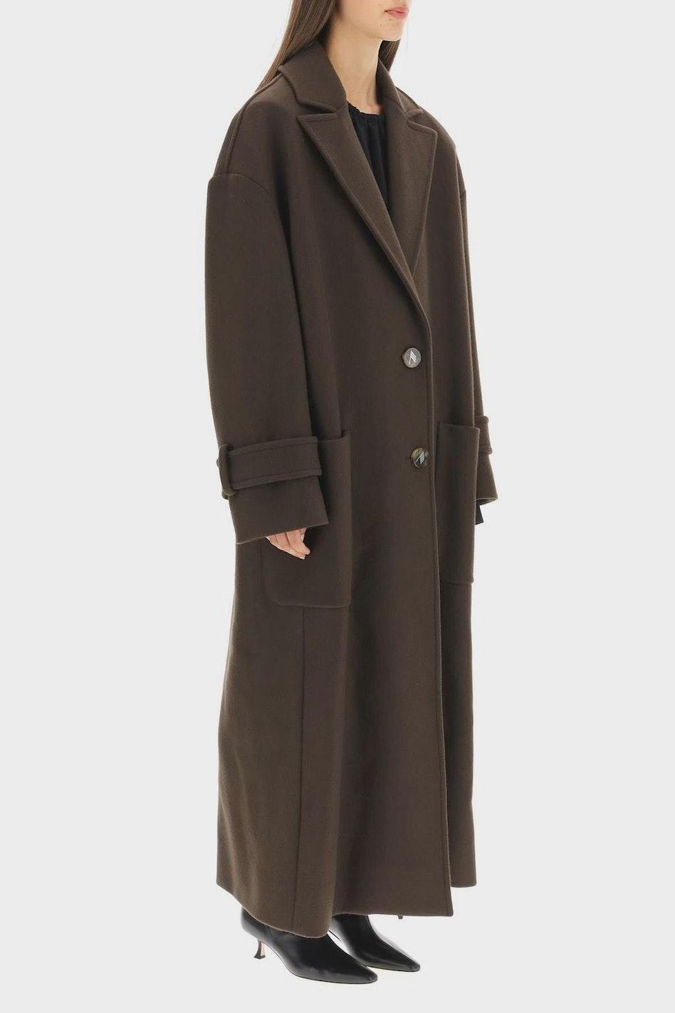 The Attico Oversized Long Coat: image 1