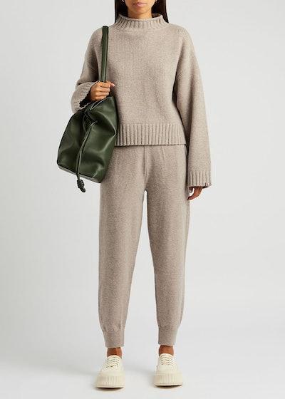 N°163 Ken stone cashmere-blend jumper: image 1