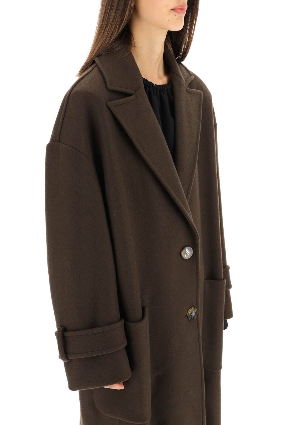 The Attico Oversized Long Coat: additional image