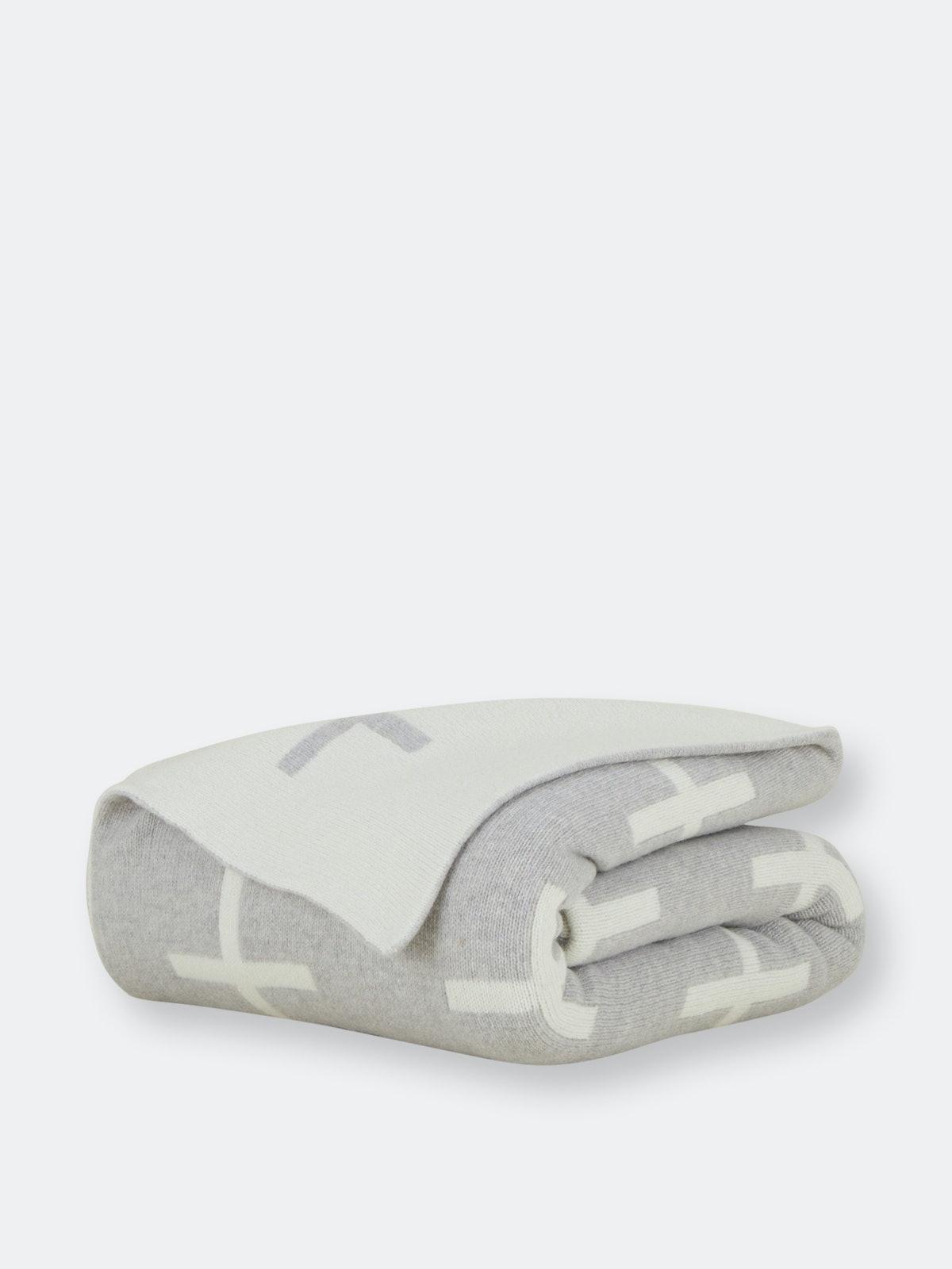 Cross Knit Throw: image 1