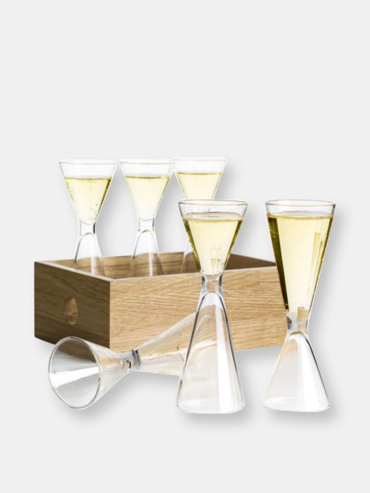 Nature Shot Glass Set W/Storage Box, 6 Pack: image 1