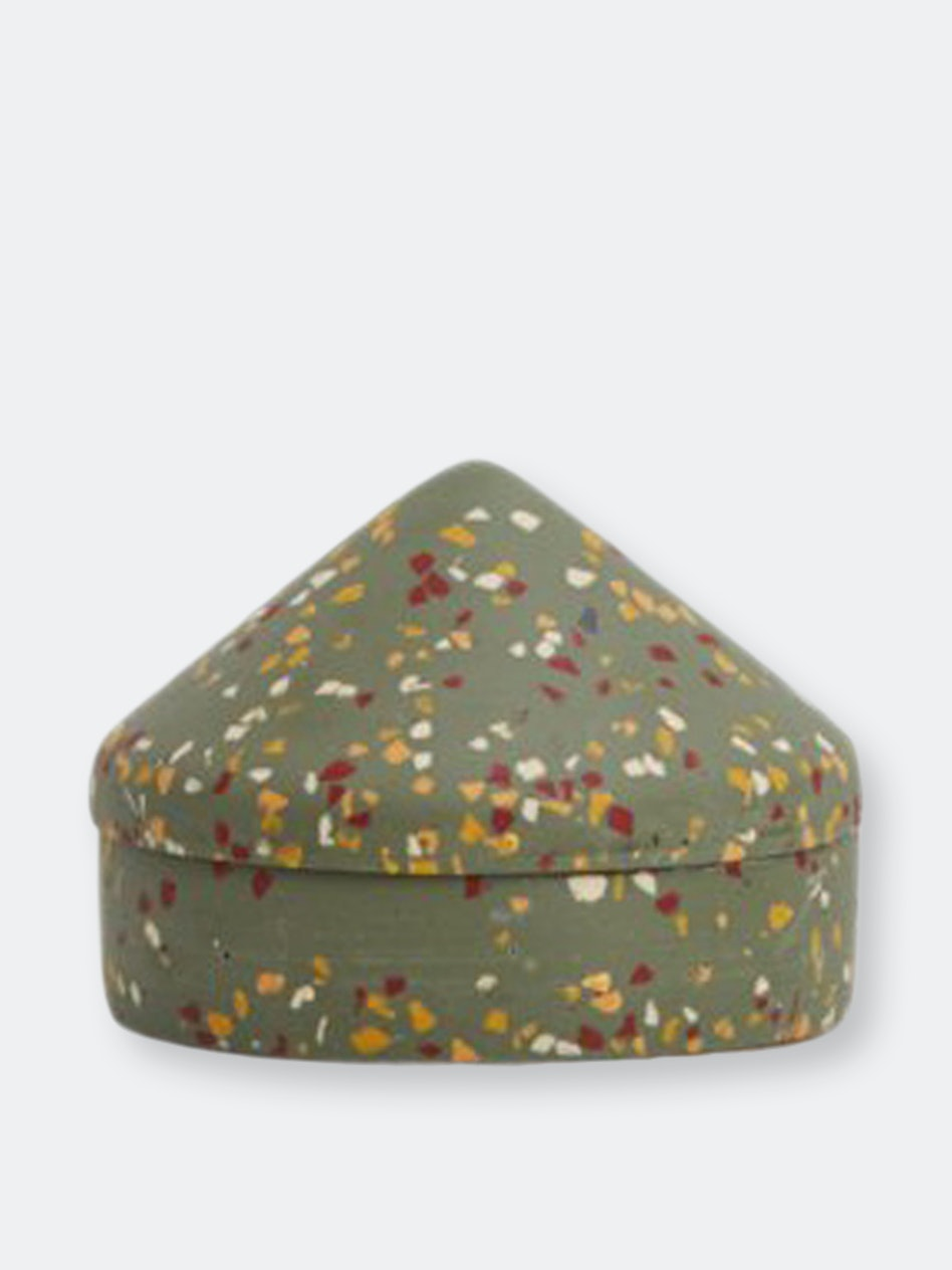 Terrazzo Cone Keepsake Box: additional image