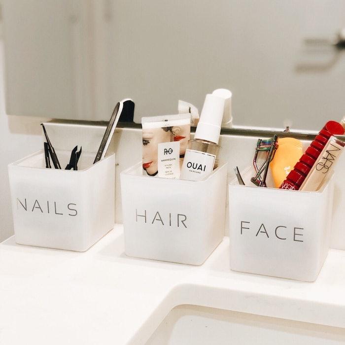 Nails, Hair Face Vase Gift Set: image 1