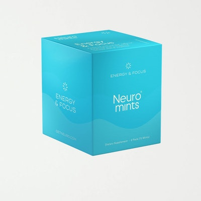 Neuro Mints | Caffeine + L-theanine | Energy and Focus Mints: image 1