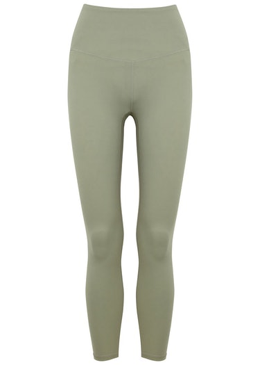 Whitley sage stretch-jersey leggings: image 1