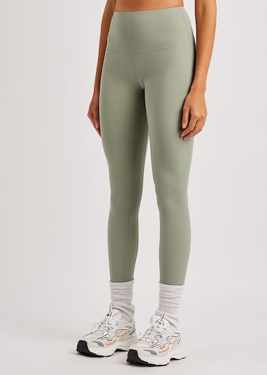 Whitley sage stretch-jersey leggings: additional image
