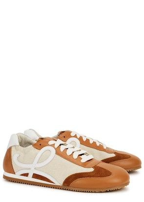 X Paula's Ibiza Ballet Runner panelled sneakers: image 1
