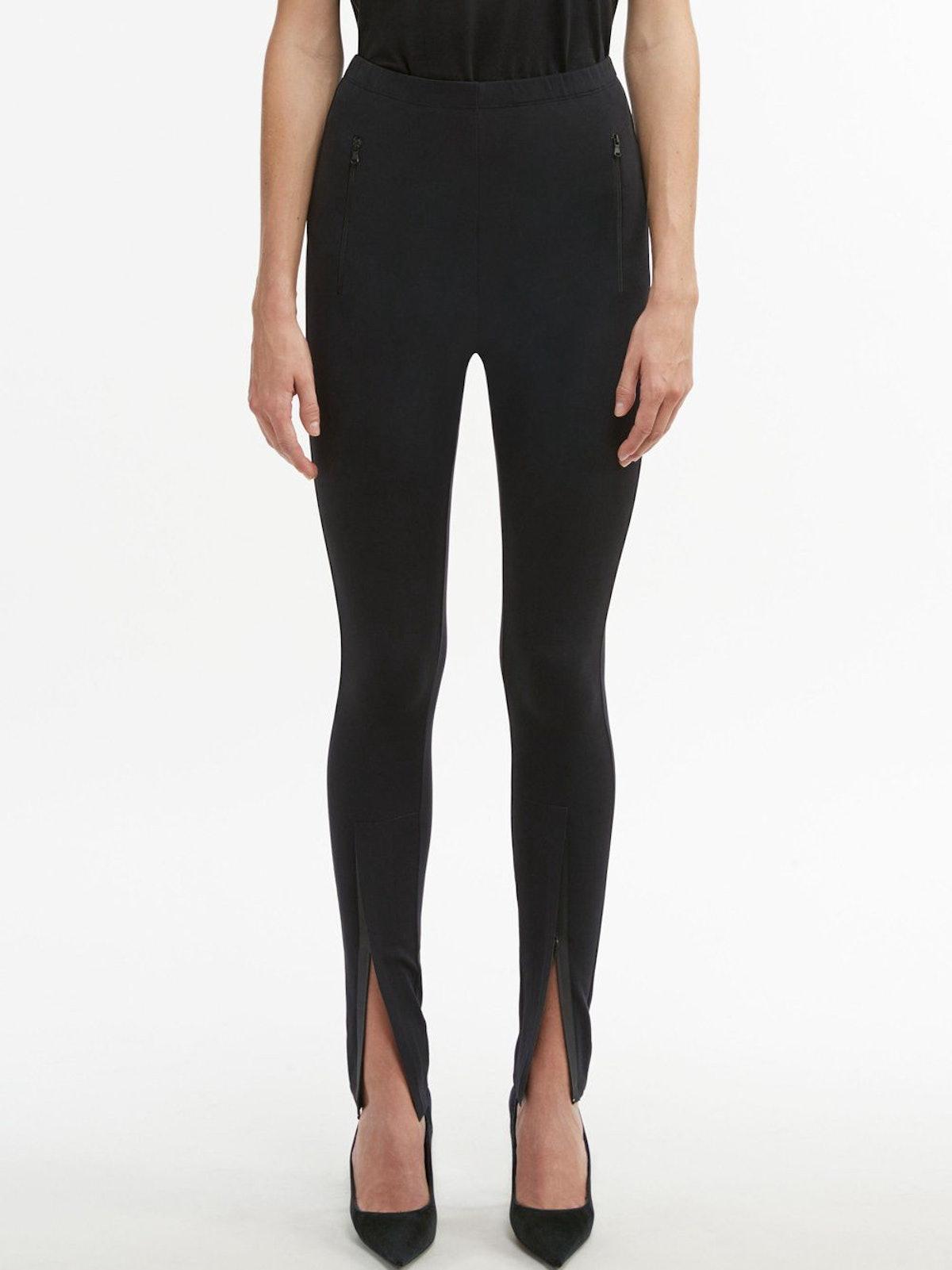 Front Zip Leggings: image 1