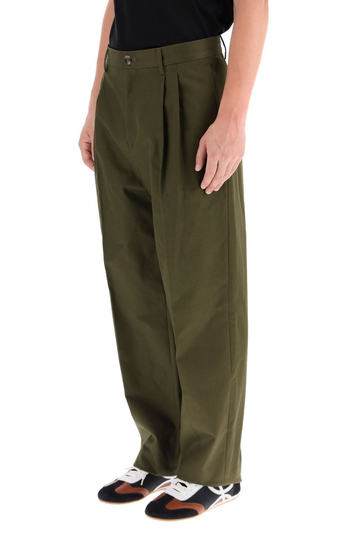 Loewe Chino Trousers Anagram Embroidery: image 1