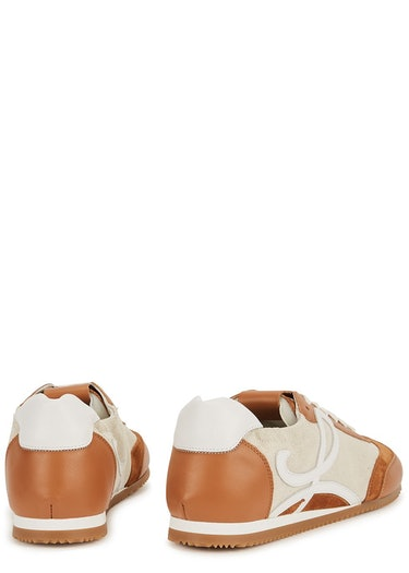 X Paula's Ibiza Ballet Runner panelled sneakers: additional image