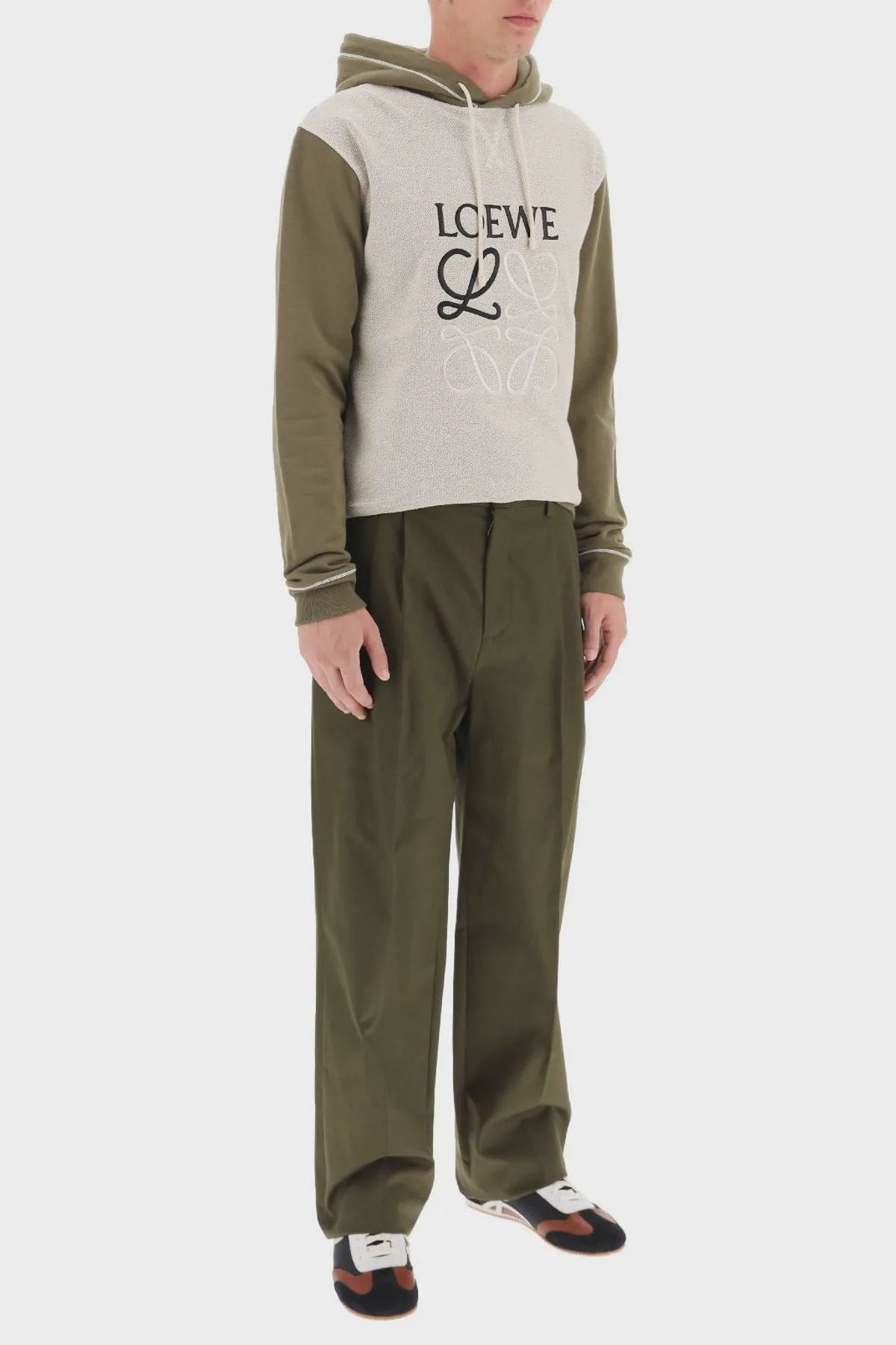 Loewe Chino Trousers Anagram Embroidery: additional image