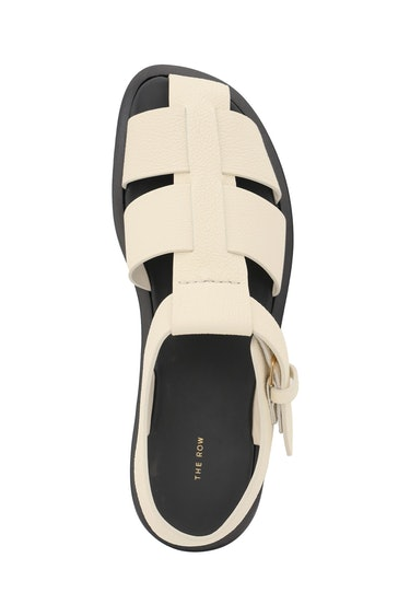 The Row Fisherman Hammered Leather Sandals: additional image