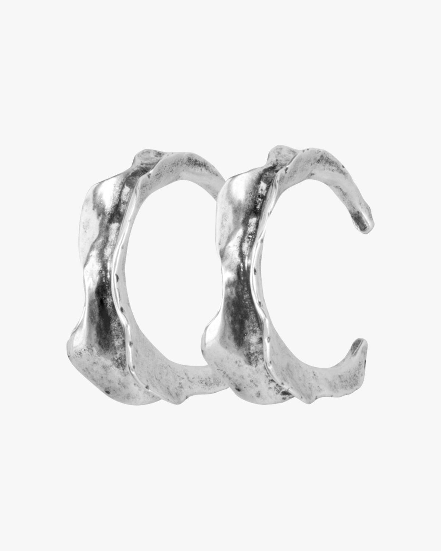 Swaggy Hoop Earrings: image 1