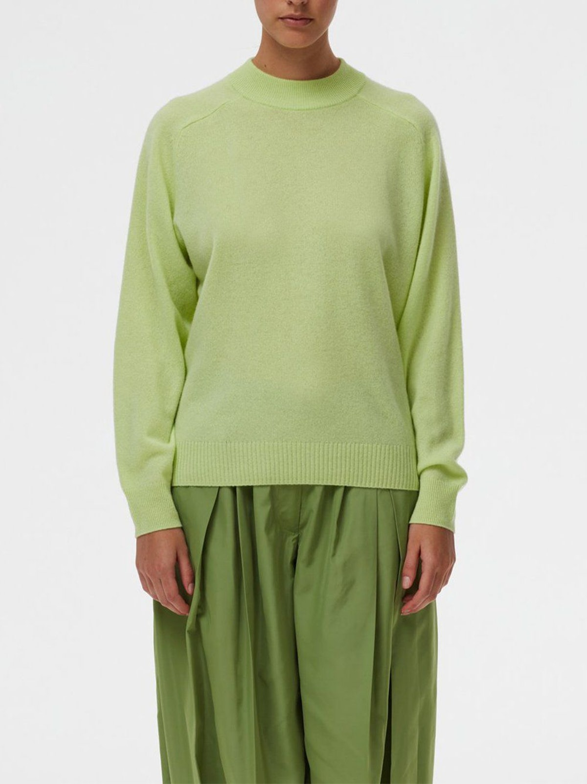 Cozy Cashmere Crewneck Sweater: image 1