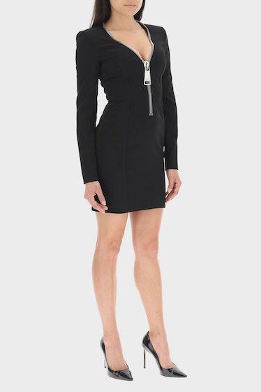 Moschino Mini Dress With Macro Zip: image 1