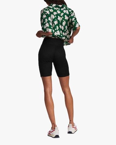 The Knit Rib Bike Shorts: additional image