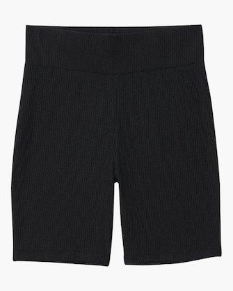 The Knit Rib Bike Shorts: image 1