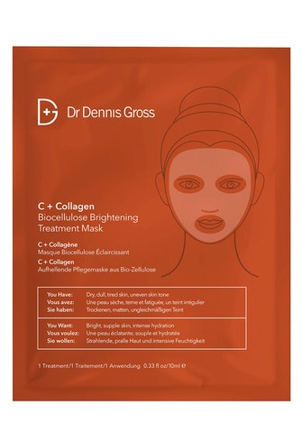 C + Collagen Biocellulose Brightening Treatment Mask: image 1