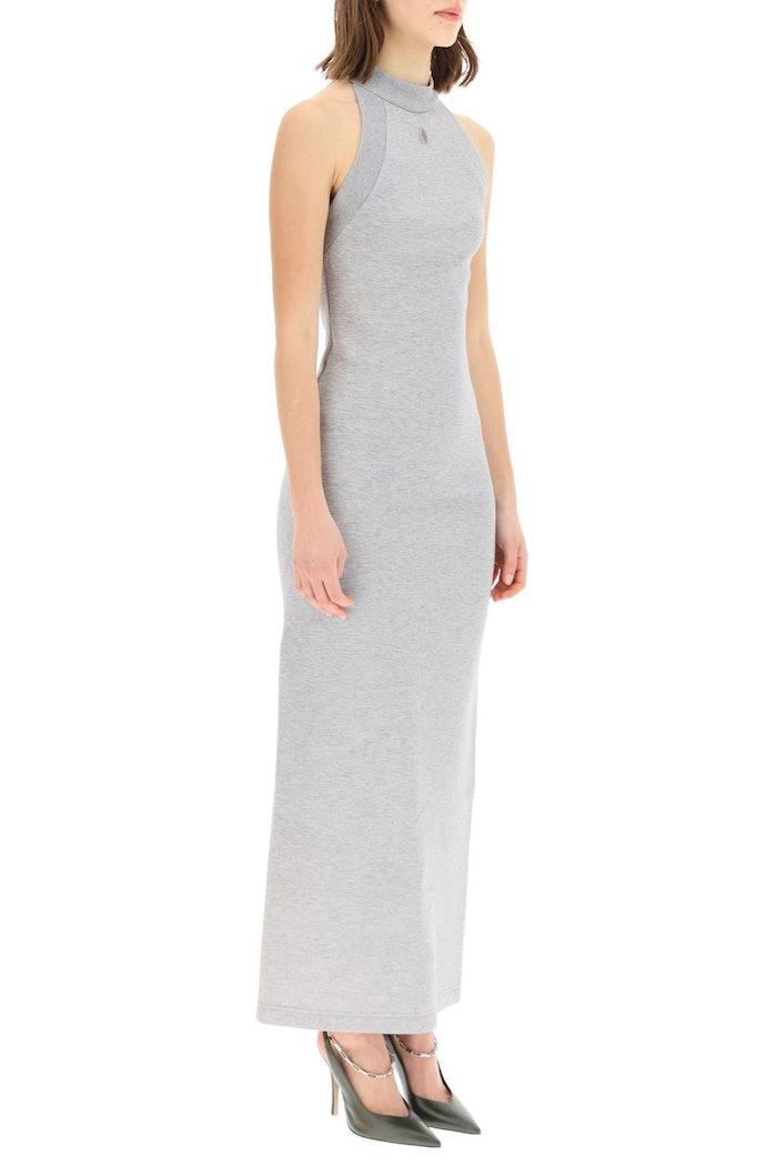 The Attico Long Jersey Dress: image 1