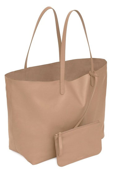 Oversized Tote in Biscotto: additional image