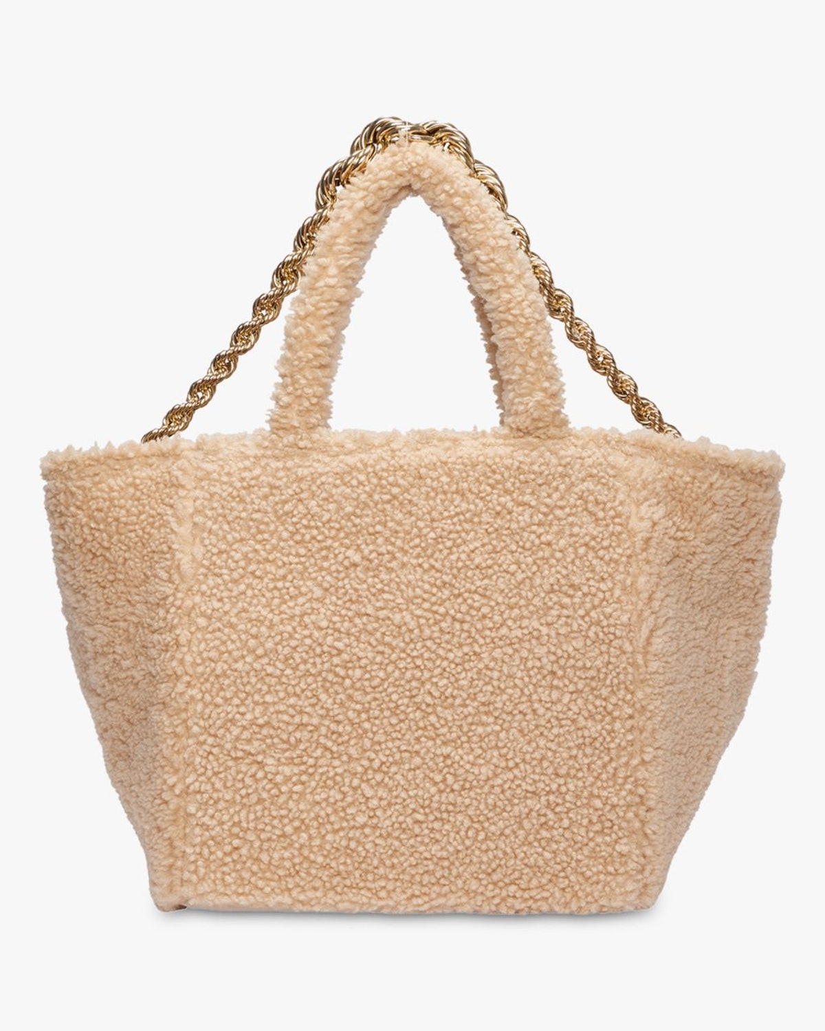 Wild Touch Shearling Tote: image 1