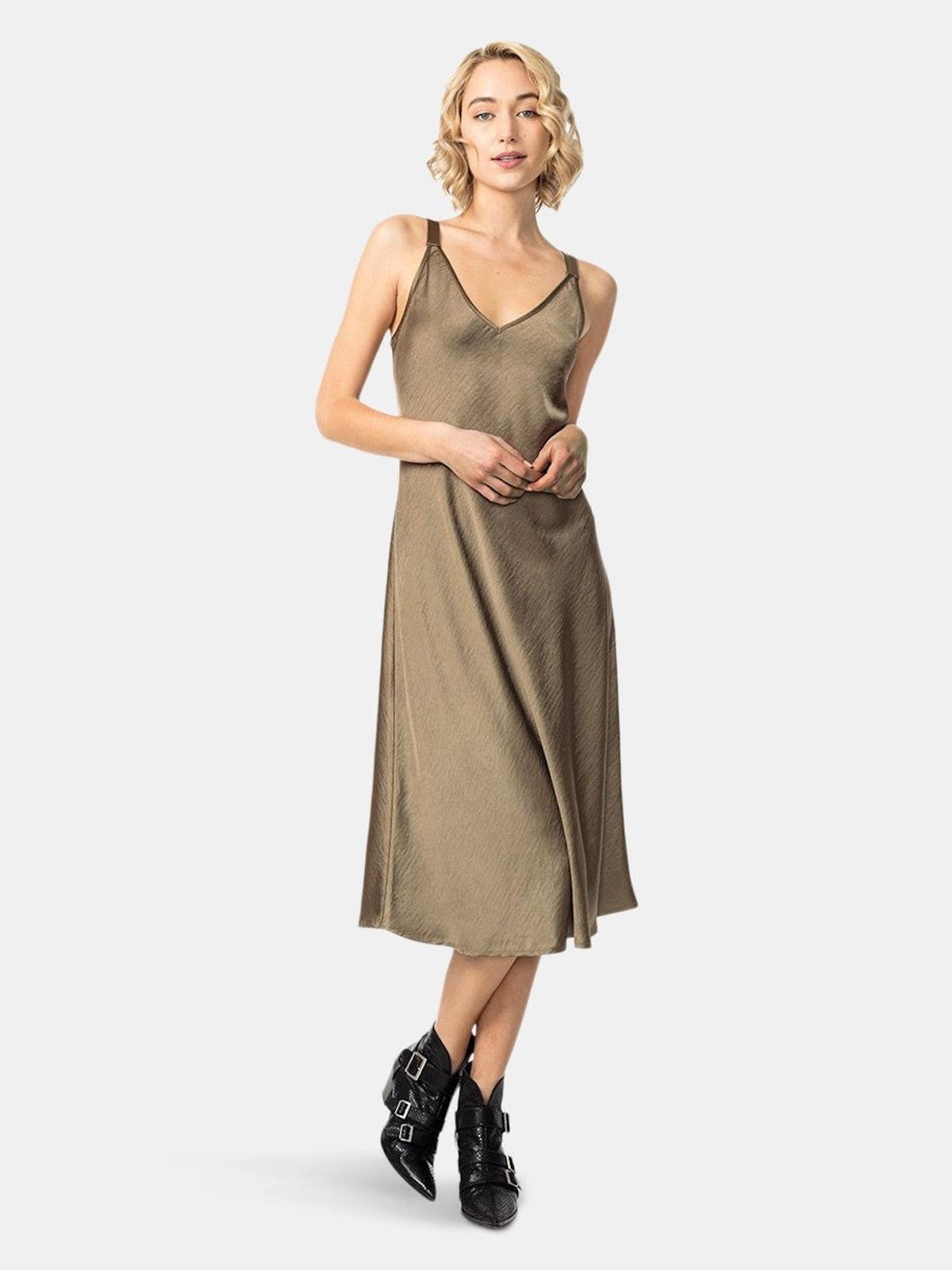 Wellington Slip Dress: image 1