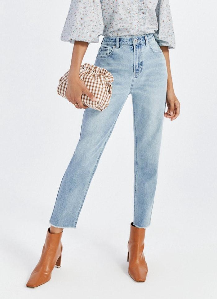 Straight Leg Mom Jean: image 1