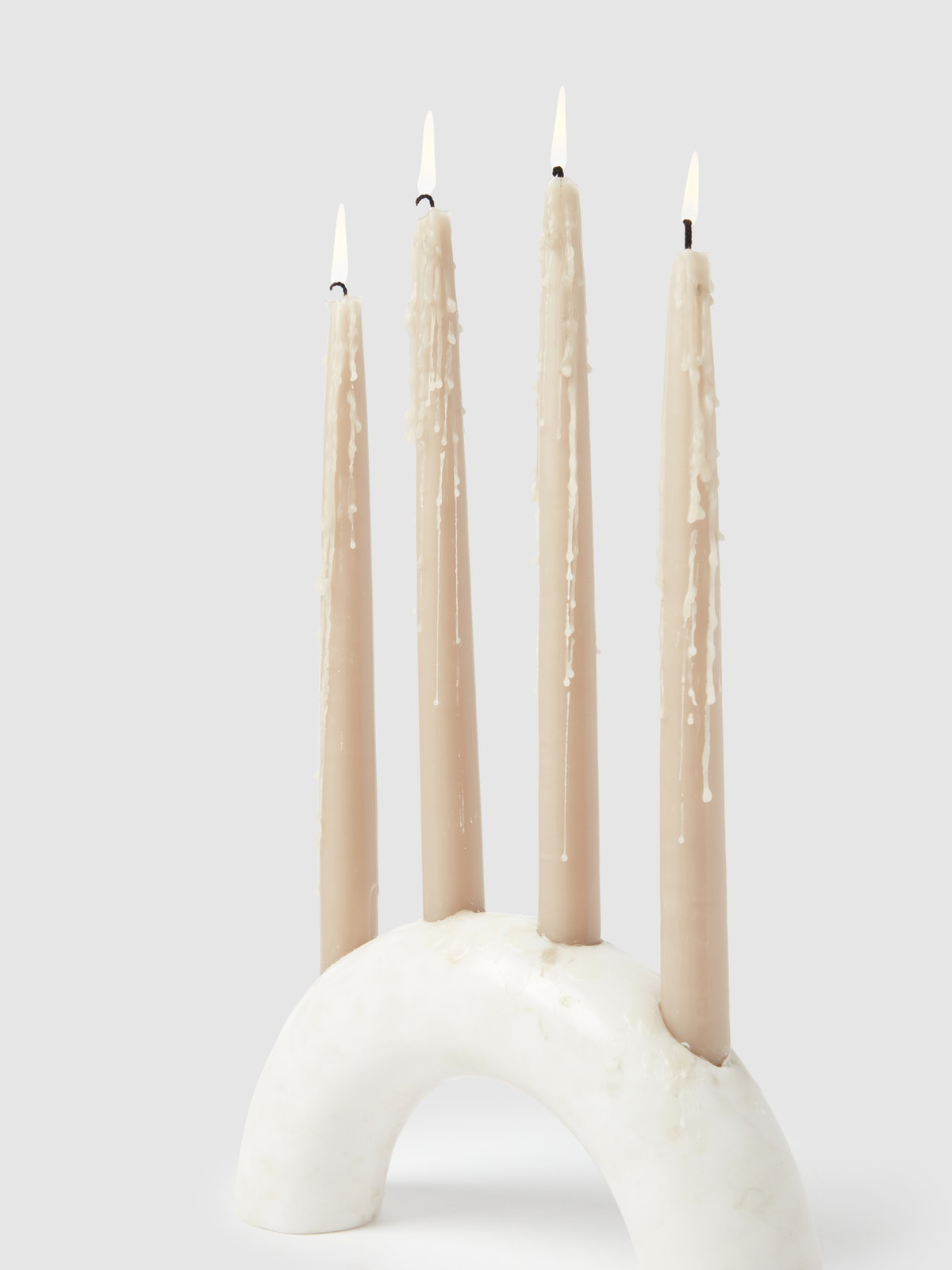 Bow Marble Candle Holder: image 1