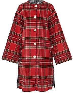 Double-face wool coat: image 1