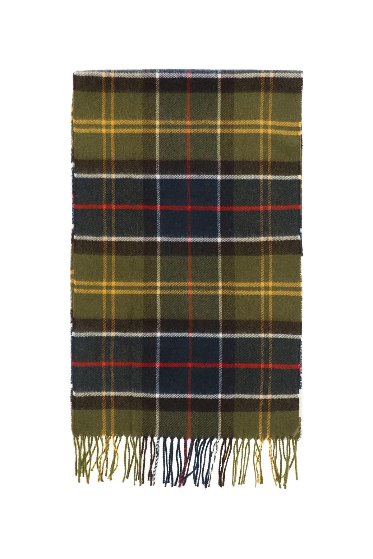 Barbour Yaxley Tartan Wool Scarf: image 1