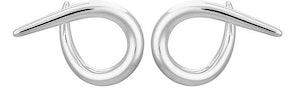 Punk hoop earrings: image 1