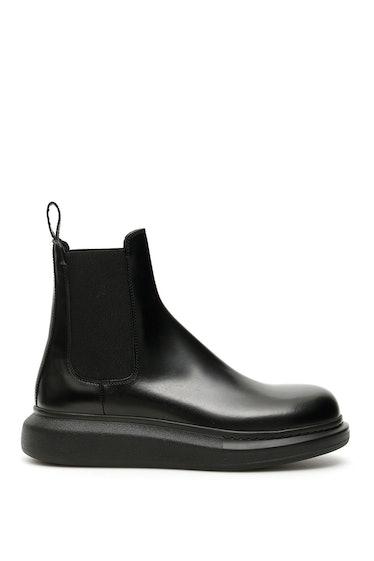 Alexander Mcqueen Chelsea Boots: image 1