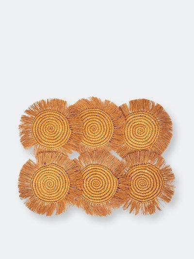 Flor Coaster - Marigold (Set of 6): image 1