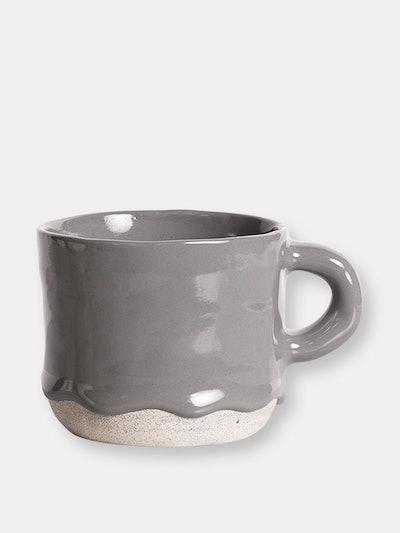 Charcoal Drippy Mug: image 1