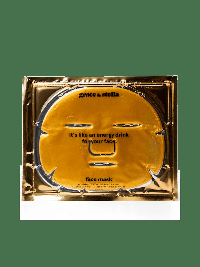 anti-wrinkle + energizing face masks (6-Pcs): image 1