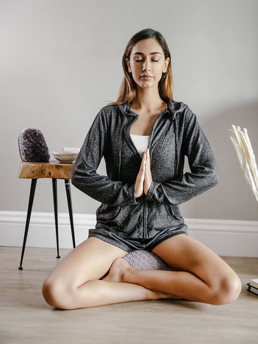 Crystal Meditation Pillow: additional image