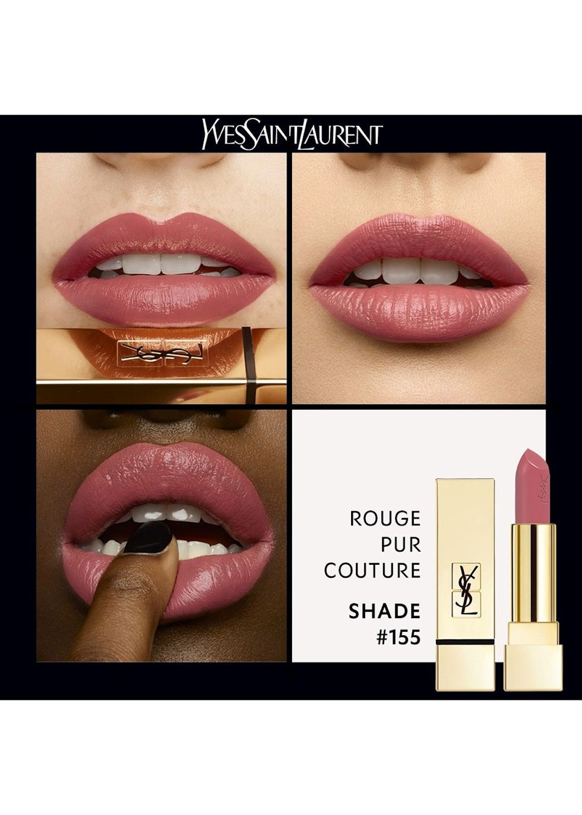 Rouge Pur Couture Lipstick SPF15: additional image