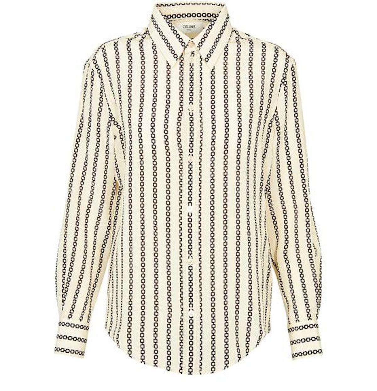 Loose Shirt in Crepe De Chine: image 1