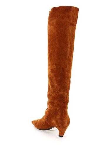 Khaite Davis Knee-high Suede Boots: additional image