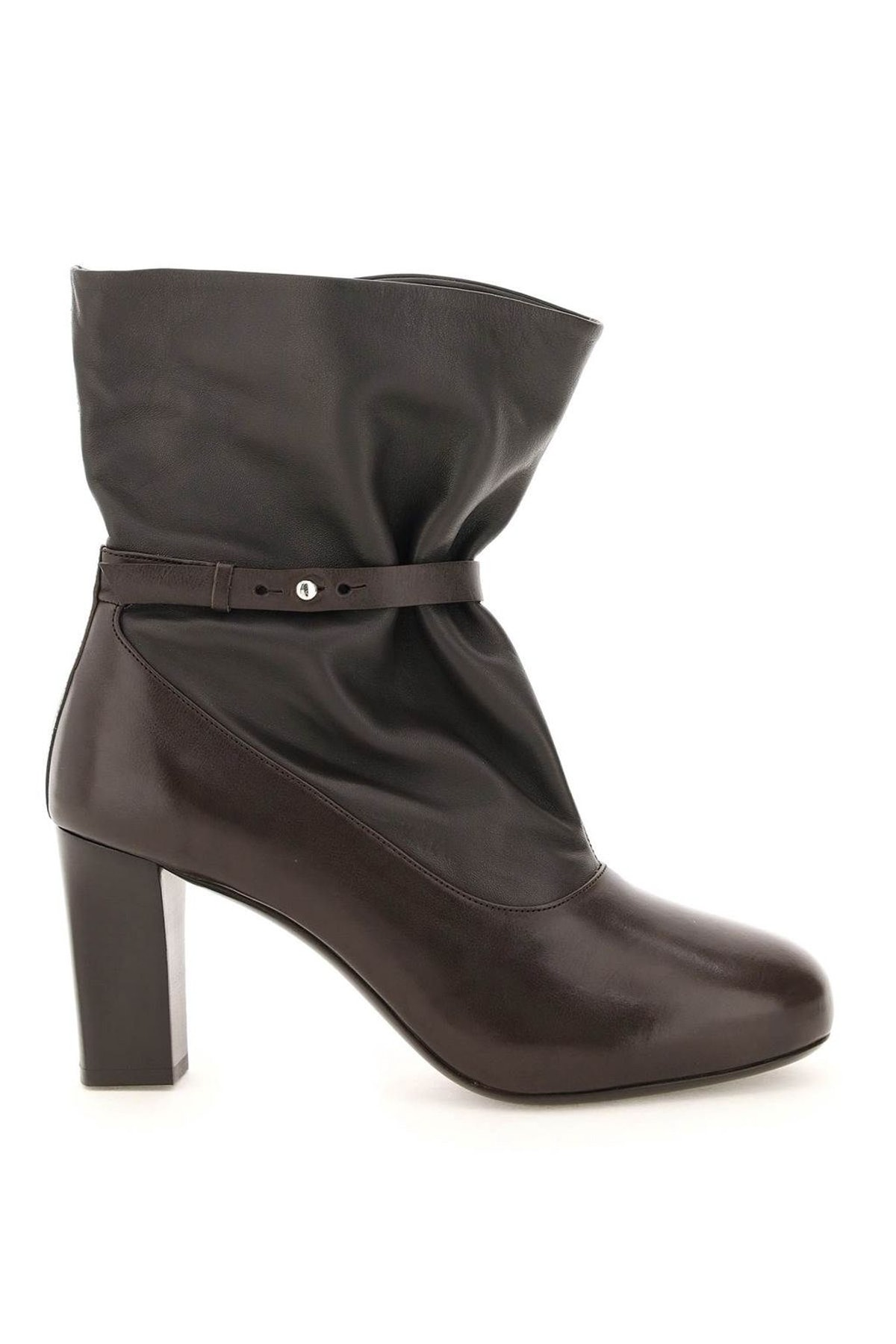 Lemaire Soft Leather Mid Boots: image 1