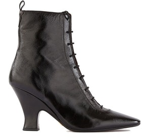The Victorian leather boots: image 1