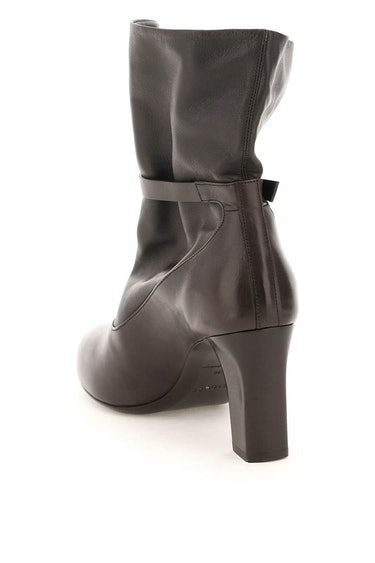 Lemaire Soft Leather Mid Boots: additional image