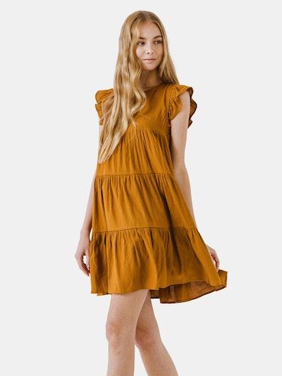 Ruffled Tiered Dress: image 1
