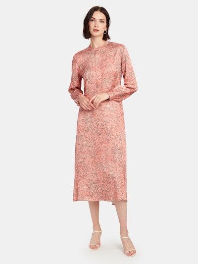 Lennon Long Sleeve Midi Dress: image 1