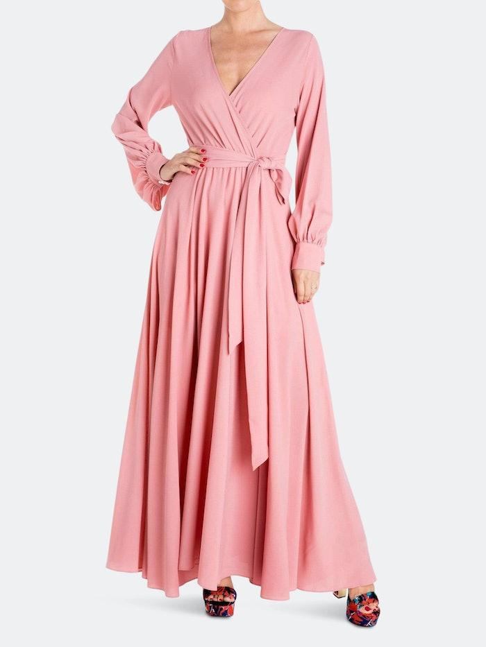 LilyPad Maxi Dress - Mauve: image 1