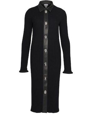 Midi merino cotton dress: image 1